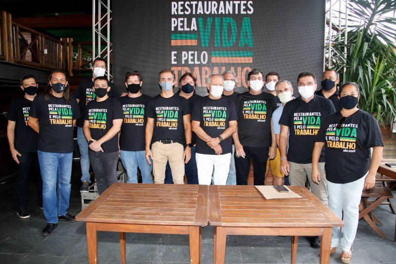 Restaurantes Pela Vida - Abrasel promove coletiva de imprensa e apresenta dados sobre disseminação da Covid-19