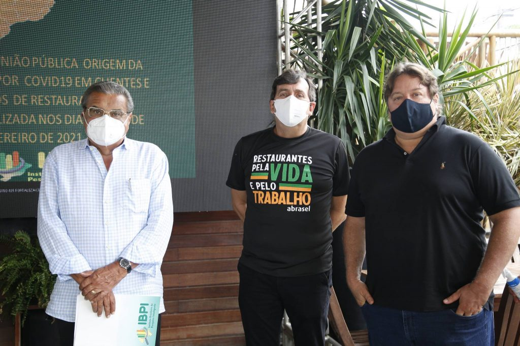 Antonio Vasquez, Joao Mendonca E Rodrigo Moreira