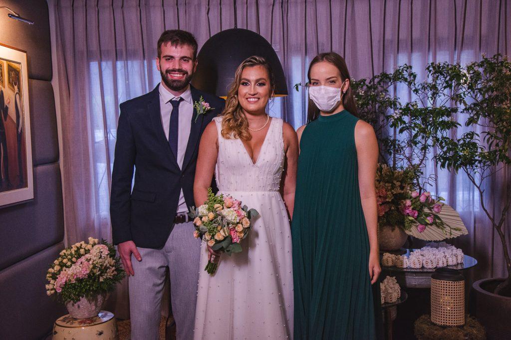 Bernardo Fontoura, Jessica Parente E Giovana Bezerra