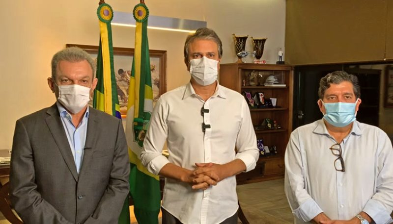 Camilo anuncia suspensão das atividades econômicas a partir das 20 horas e prorroga estado de calamidade pública por mais seis meses