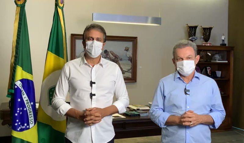 Camilo e Sarto dizem que medidas a setores específicos serão adotadas e que drive thrus poderão funcionar 24 horas