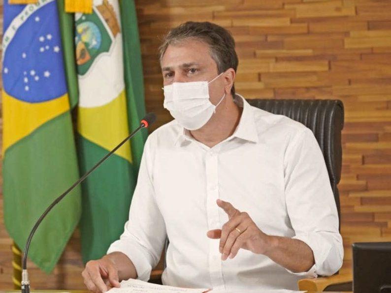 Camilo rechaça notícias de que haveria um novo lockdown em discussão e reforça toda a rede de saúde estadual