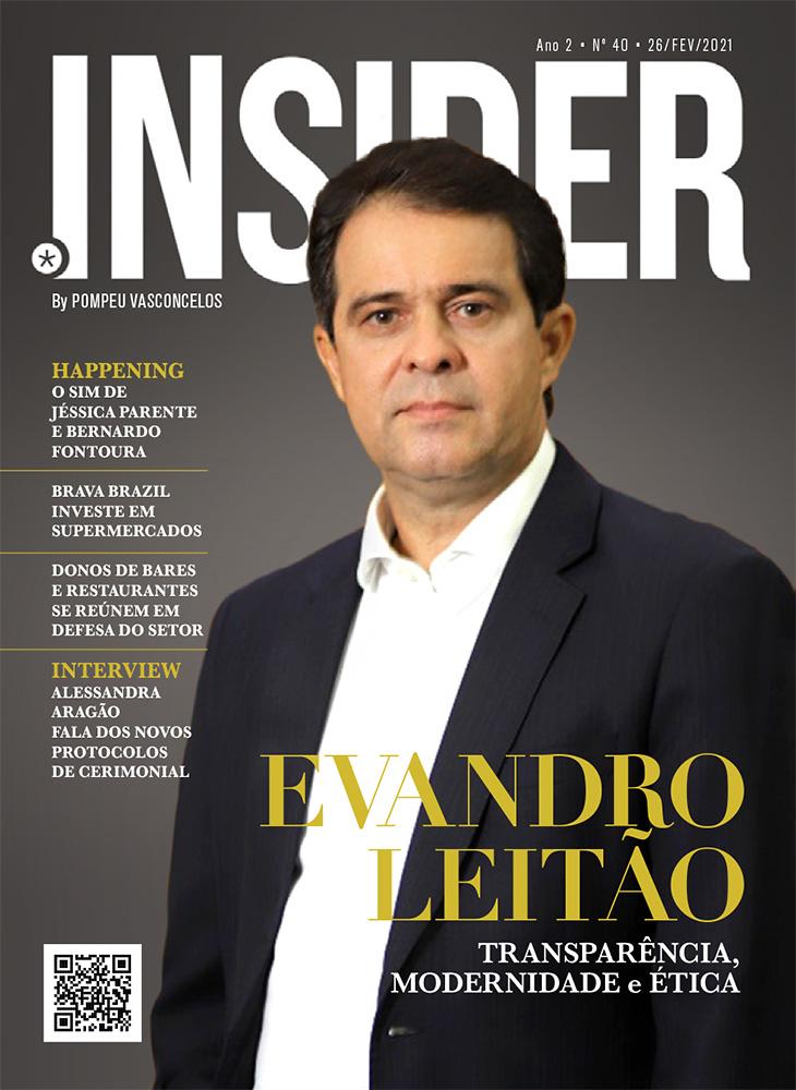 Nº 40 • ano 2021: Evandro Leitão