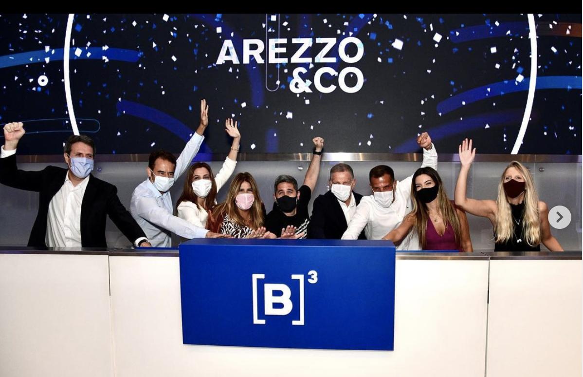 Arezzo & CO celebra 10 anos de seu IPO