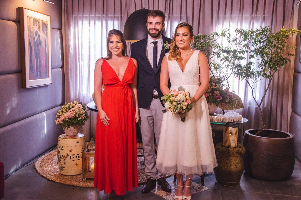 Carol Fontoura, Bernardo Fontoura E Jessica Parente