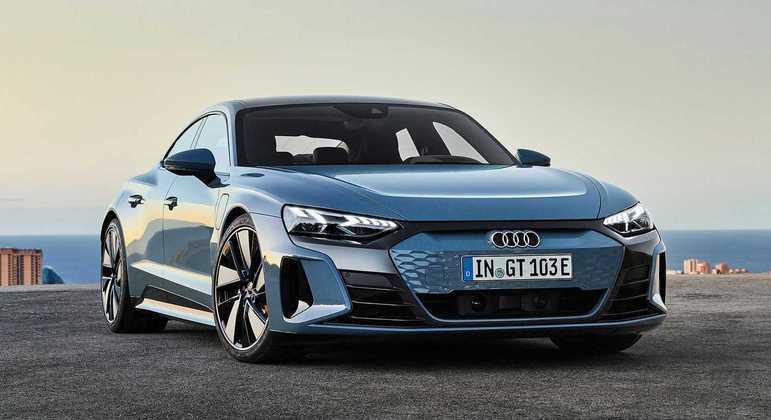 Com mais de 600cv, Audi e-tron GT elétrico faz sua estreia em grande estilo