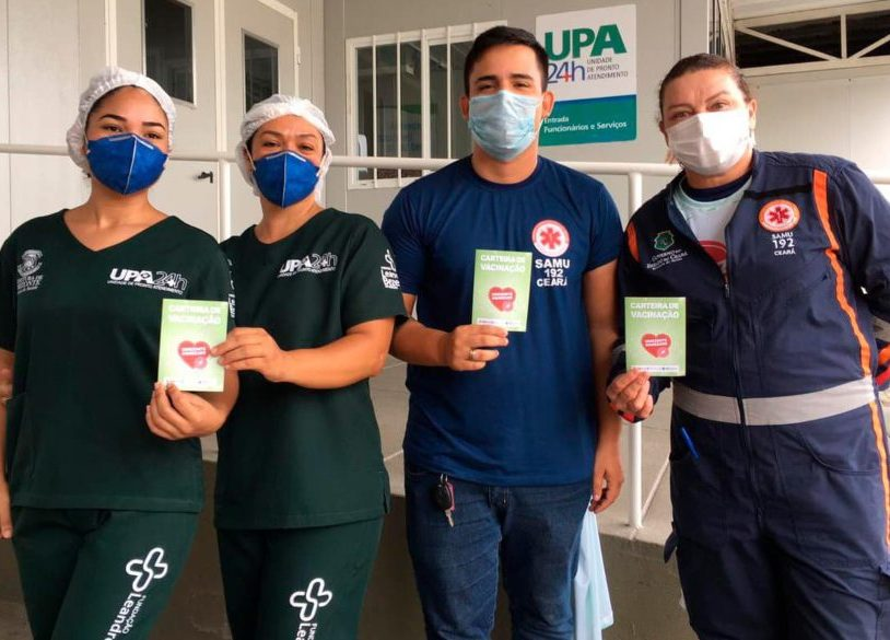 Governo do Ceará já imunizou cerca de 110 mil cearenses em todo o Estado