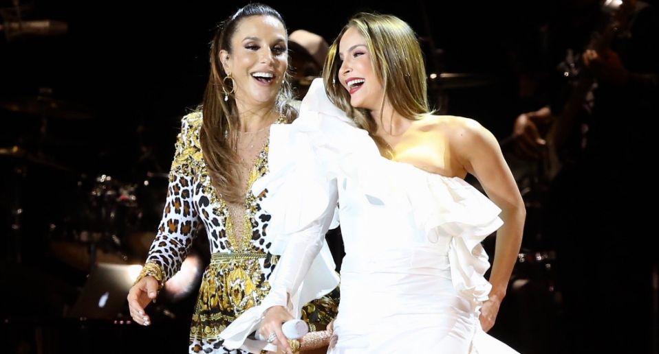 Ivete Sangalo e Claudia Leitte entregam os detalhes da live de Carnaval