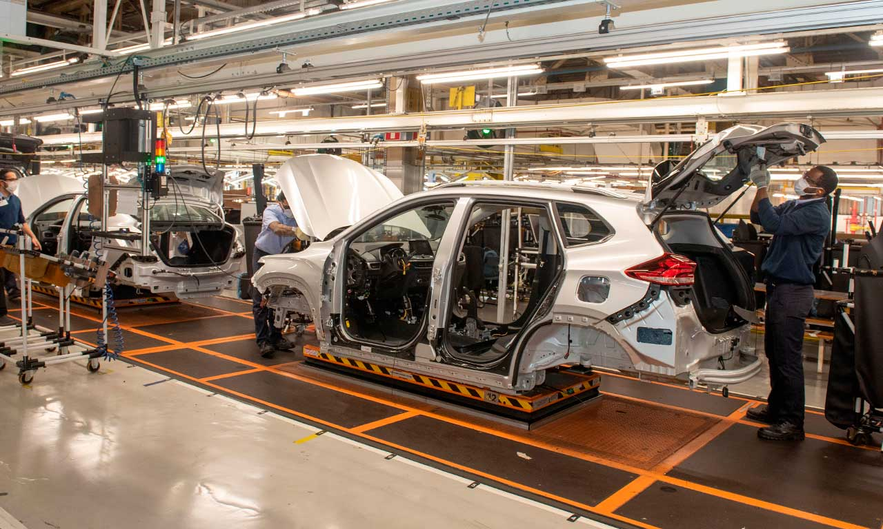 Brasil ocupa a nona posição como maior fabricante do mundo em veículos