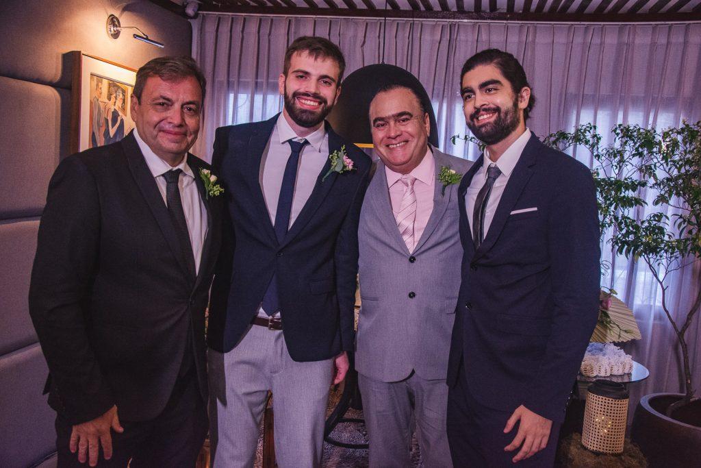 Gustavo Fontoura, Bernardo Fontoura, Helio Parente E Helio Parente Neto