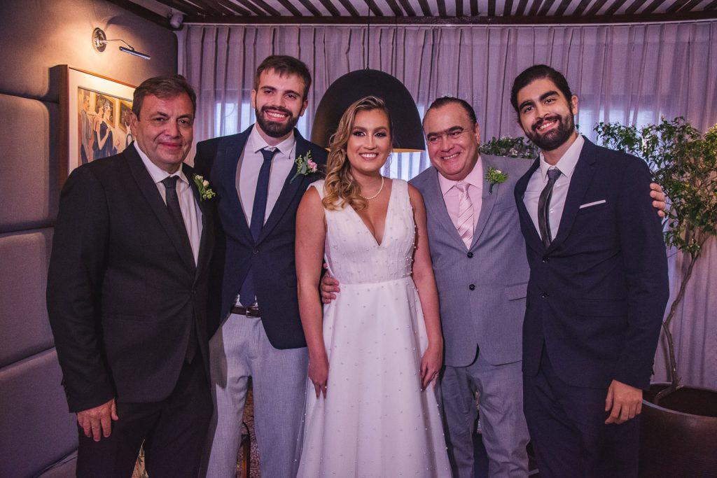 Gustavo Fontoura, Bernardo Fontoura, Jessica Parente, Helio Parente E Helio Parente Neto