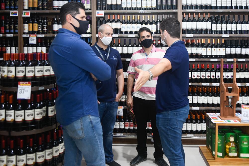 Júlio Vargas, André Linheiro, Serafim Baqueiro E Omar Macêdo