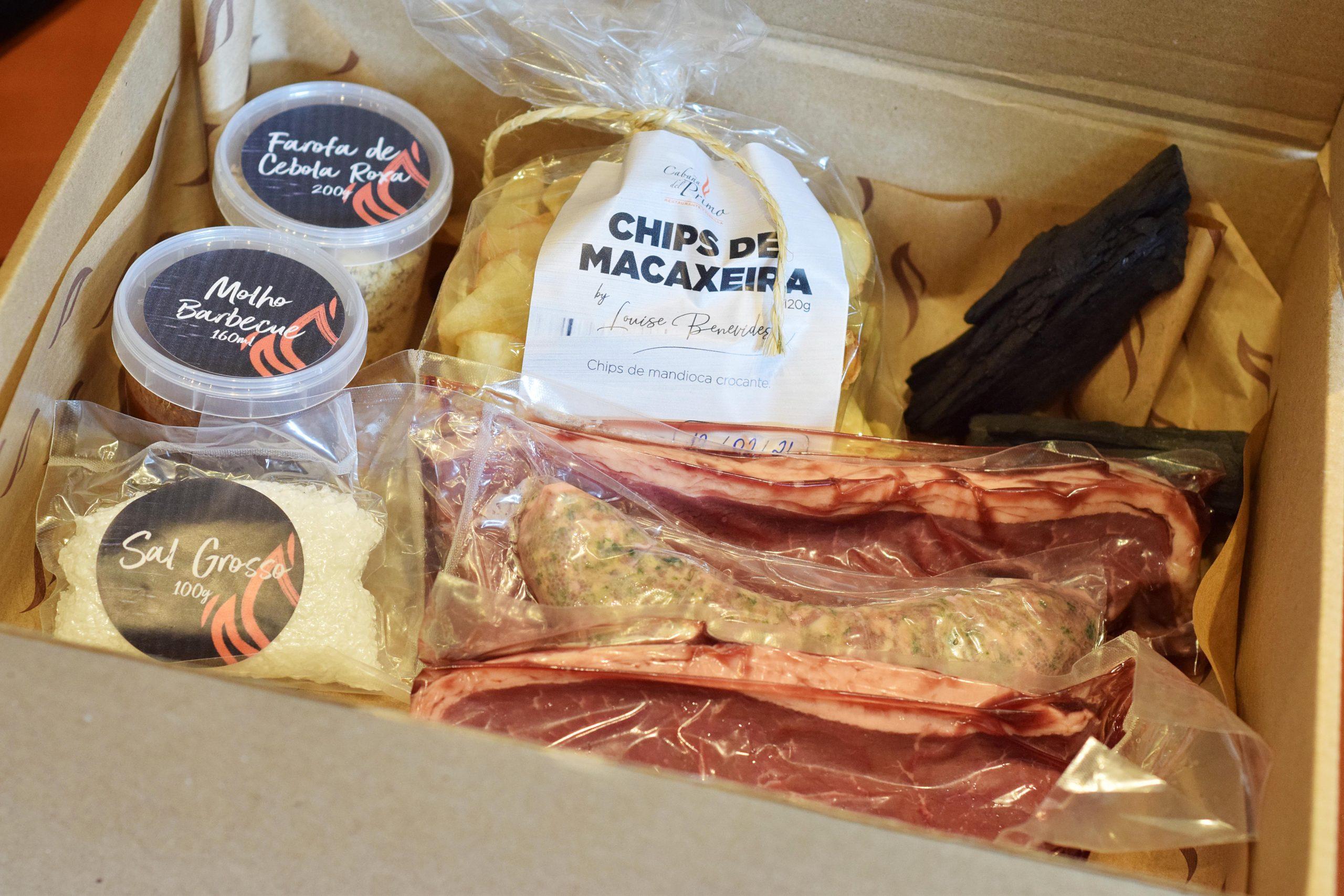 Cabaña Del Primo lança kits com produtos para finalizar em casa