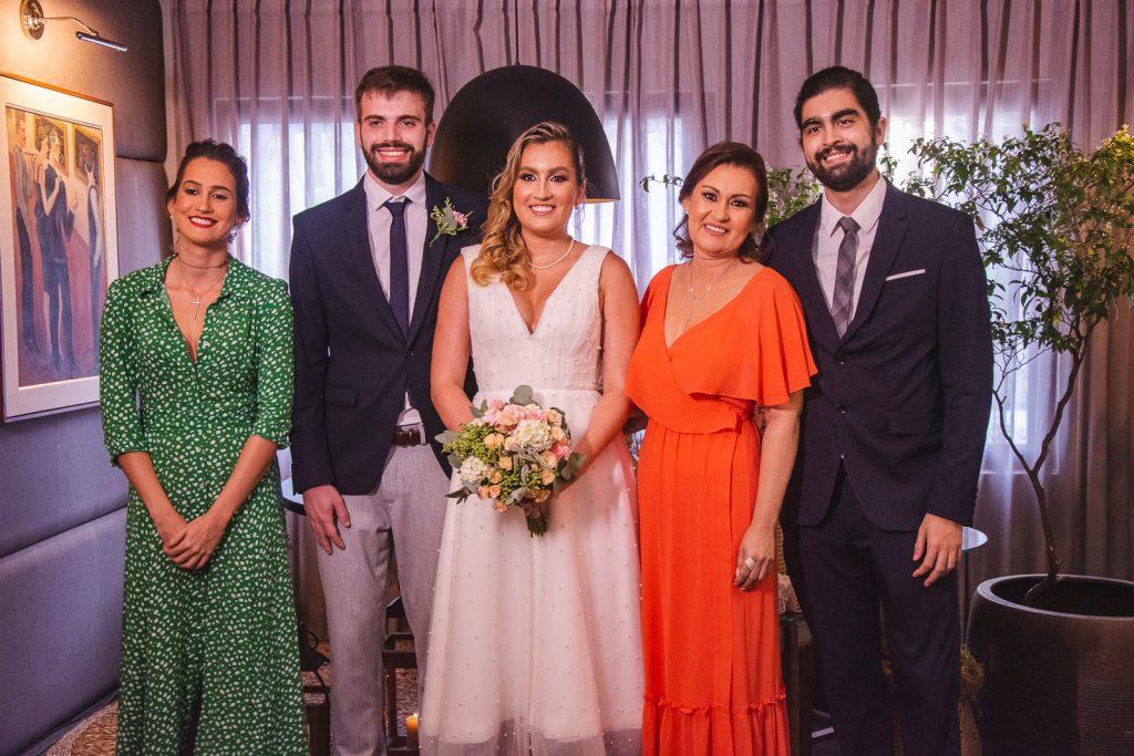 Mirella Parente, Bernardo Fontoura, Jessica Parente, Maruska Ribeiro E Helio Parente Neto