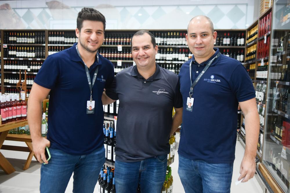 Omar Macêdo, Alyson Fonseca E André Linheiro