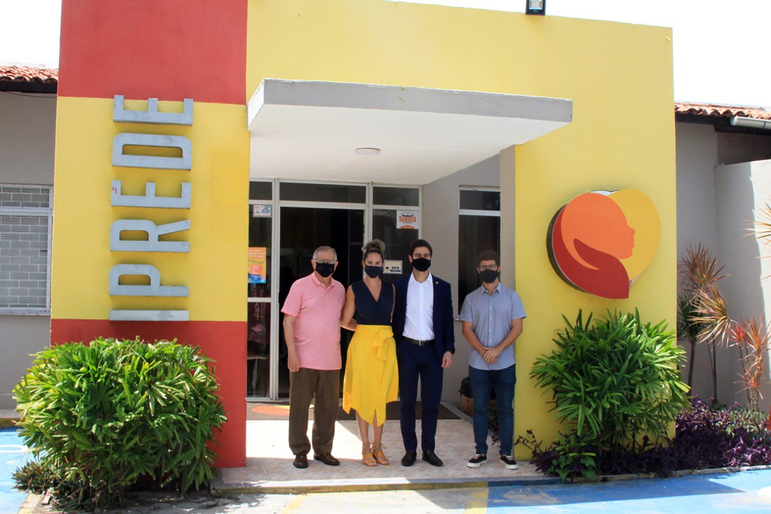 Pedro Matos visita o Iprede e reforça causas de inclusão e proteção à criança