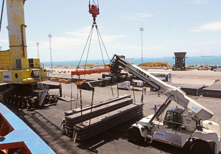 Movimentação de mercadorias na ZPE Ceará tem expansão de 6,1% em janeiro