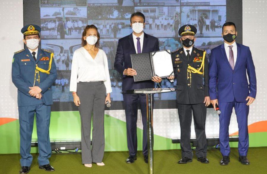 Governo do Ceará realiza a promoção de 3.075 integrantes da Polícia Militar e do Corpo de Bombeiros em todo o Estado