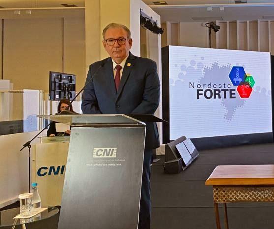 Ricardo Cavalcante empossado como presidente da Associação Nordeste Forte