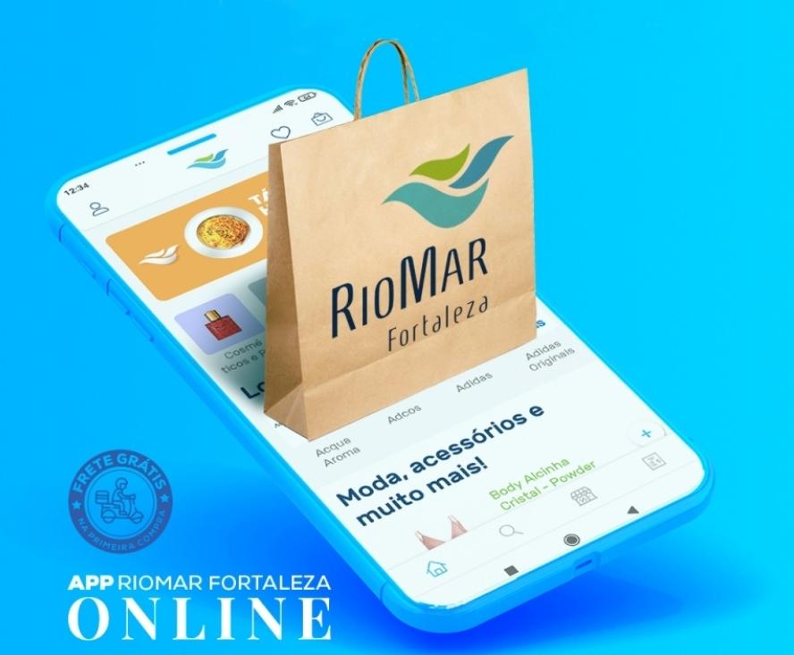 Shopping RioMar lança app da plataforma RioMar Online. Vem saber!