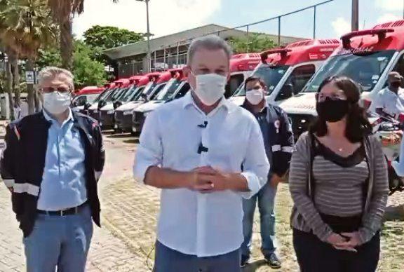 José Sarto entrega 12ª base do Samu, descentralizando o serviço na Capital