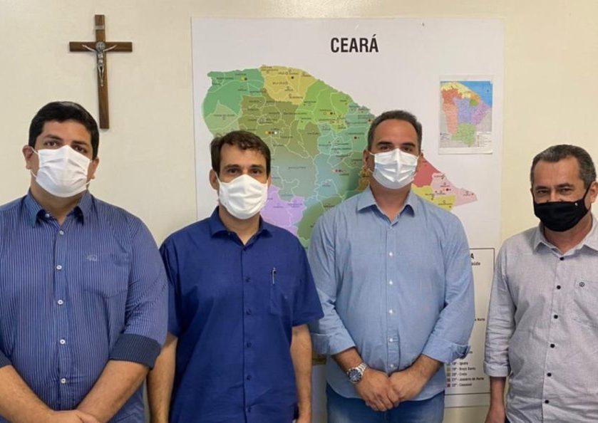 Deputado Salmito quer reestruturar o Samu de Quixadá e obtém novas obras para aquele município do Sertão Central