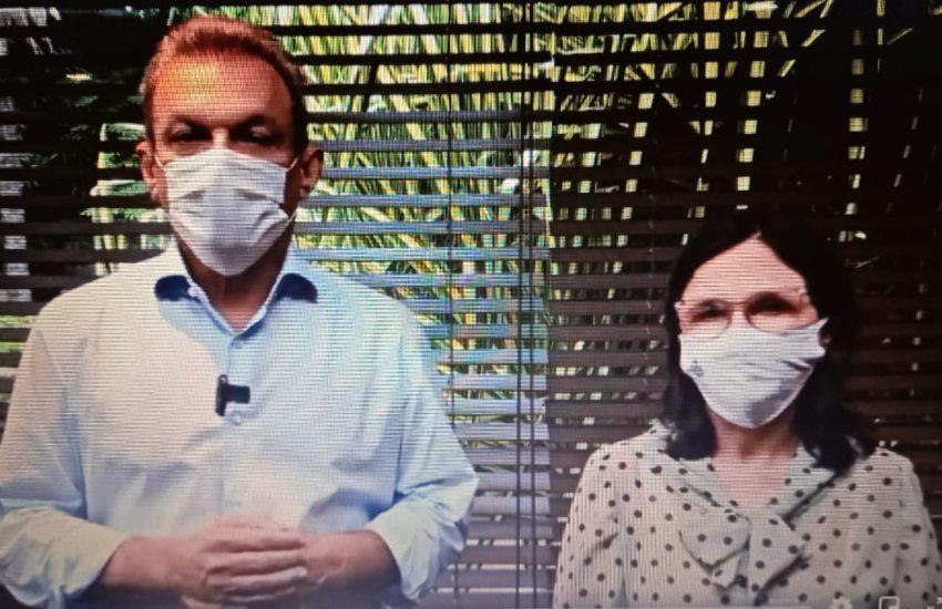 Sarto anuncia alta de leitos nas UPAs e comemora mais de 100 mil vacinados