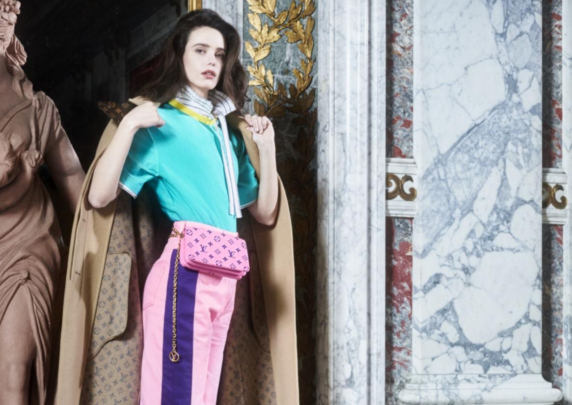 Stacy Martin é o novo rosto da coleção 2021 da Louis Vuitton