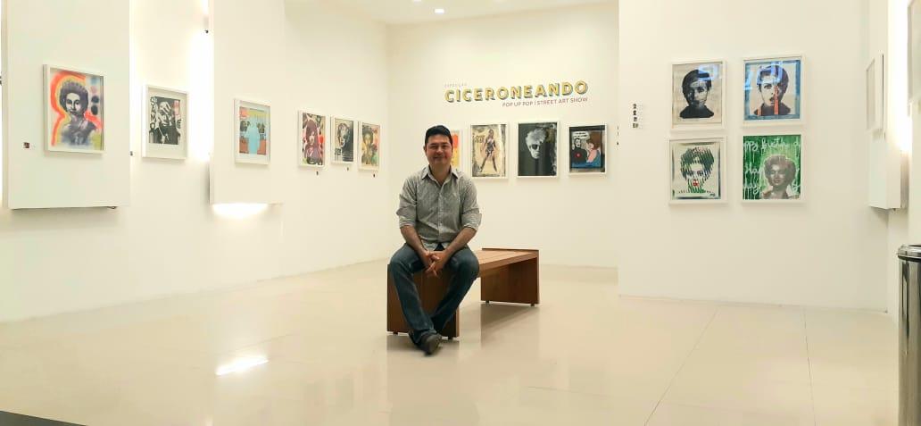 Cícero Spin abre sua primeira exposição individual com curadoria de Silvano Tomaz