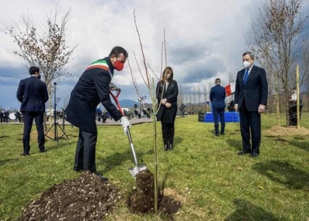 O dia 18 de março foi definido pela Itália como o Dia das Vítimas de Covid-19