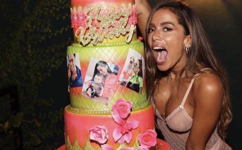 Anitta comemora seus 28 anos no Swan Miami