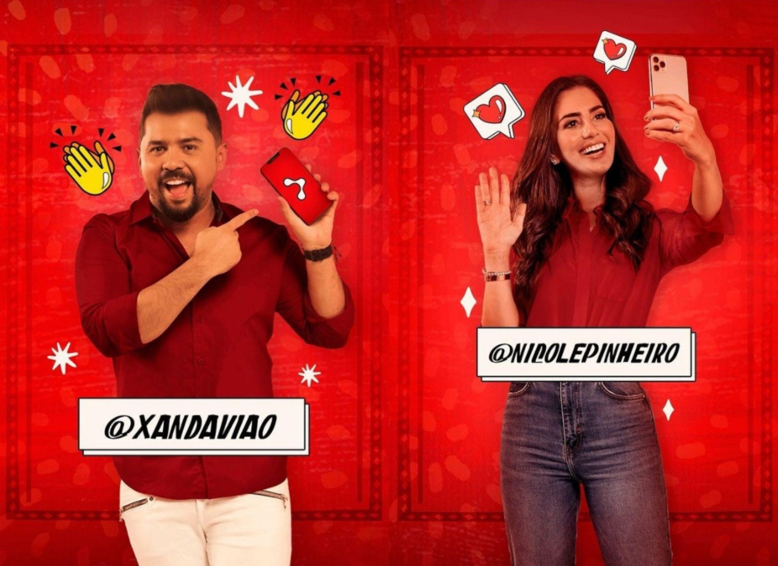 Xand Avião e Nicole Pinheiro compõem time que brilha em nova campanha da Mob Telecom