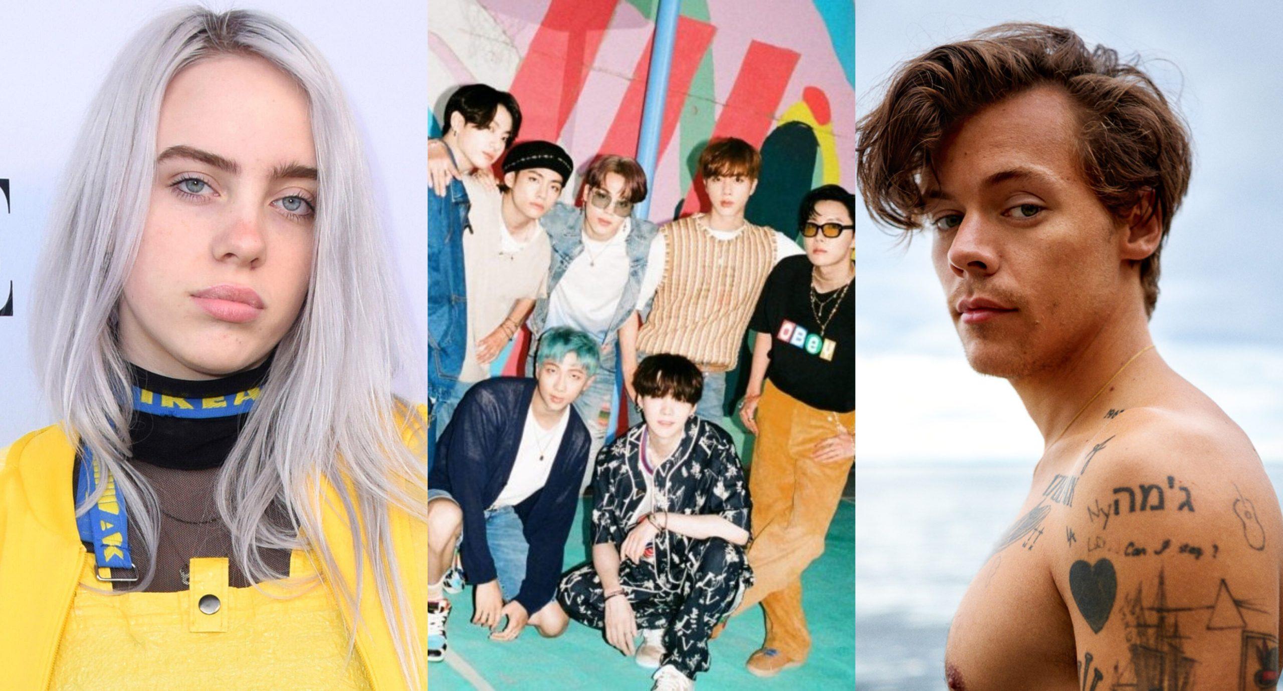 Billie Eilish, BTS e Harry Styles são algumas das atrações do Grammy 2021. Confira!