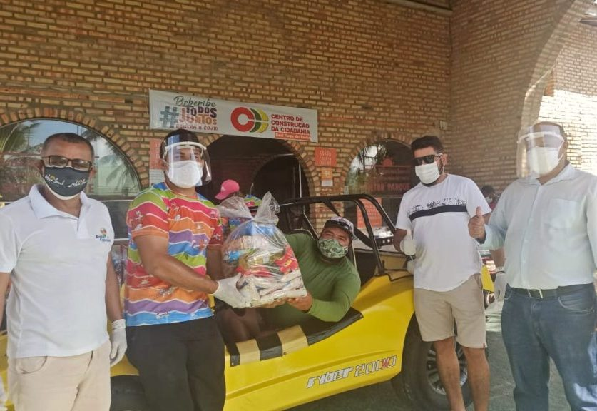 Empresário lança campanha para apoiar bugueiros que trabalham em Beberibe