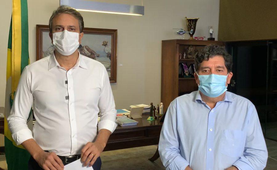 Camilo anuncia lockdown em todo o Ceará a partir da zero hora deste sábado