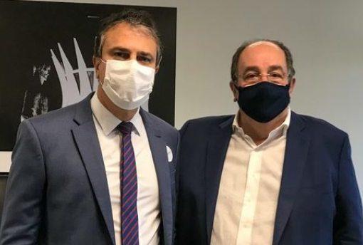 Camilo busca vacinas da União Química e discute com Arthur Lira novas medidas de enfrentamento à pandemia de Covid-19
