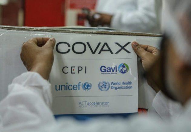 Brasil recebe 1,02 milhão de doses de vacinas do consórcio Covax-Facility