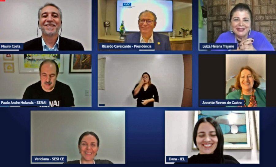 Ricardo Cavalcante fala de transformação do mundo durante evento virtual da FIEC