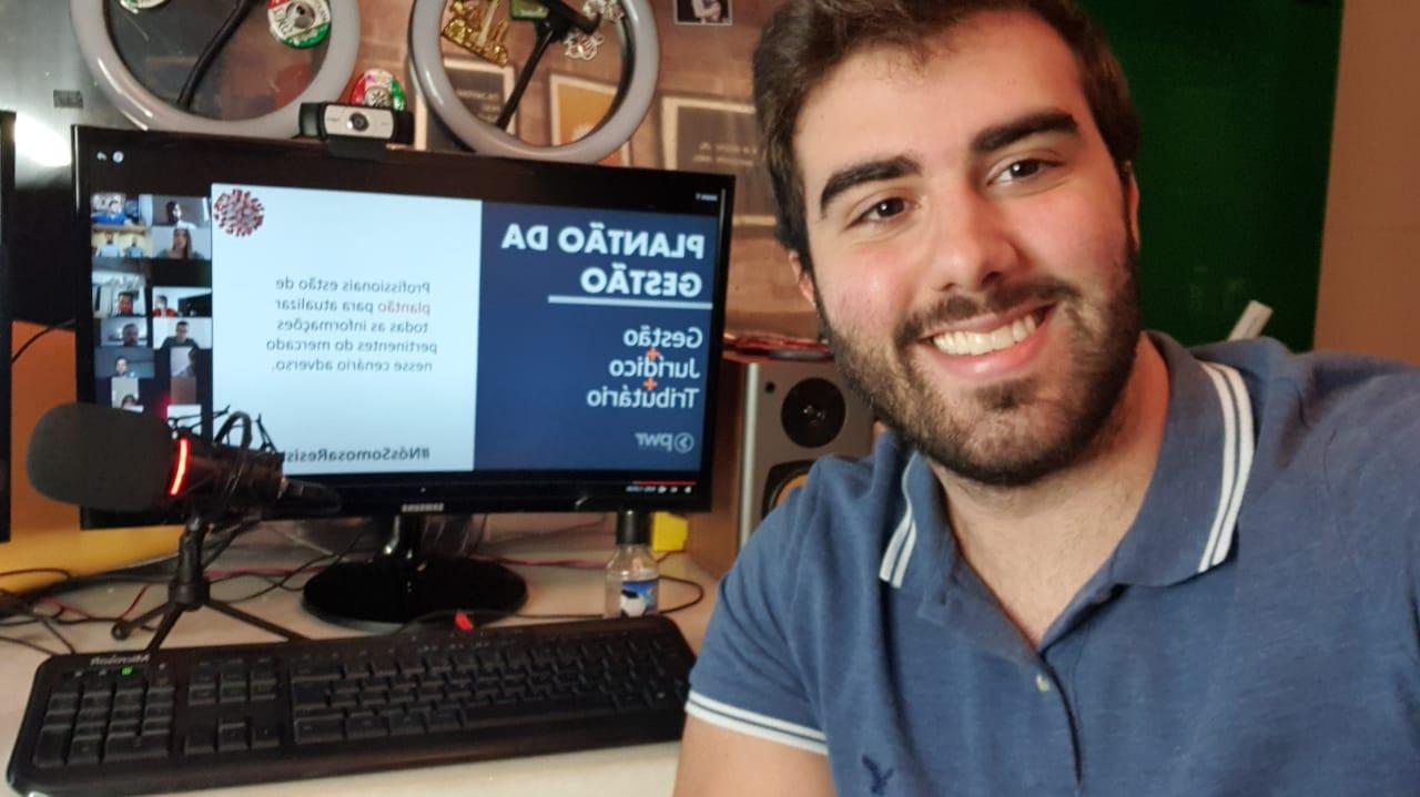 "AJE Fortaleza realiza o ""1º Almoço Empresarial On-line """