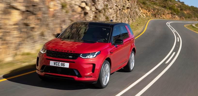 Land Rover inicia as vendas da motorização diesel para o Discovery Sport 2021