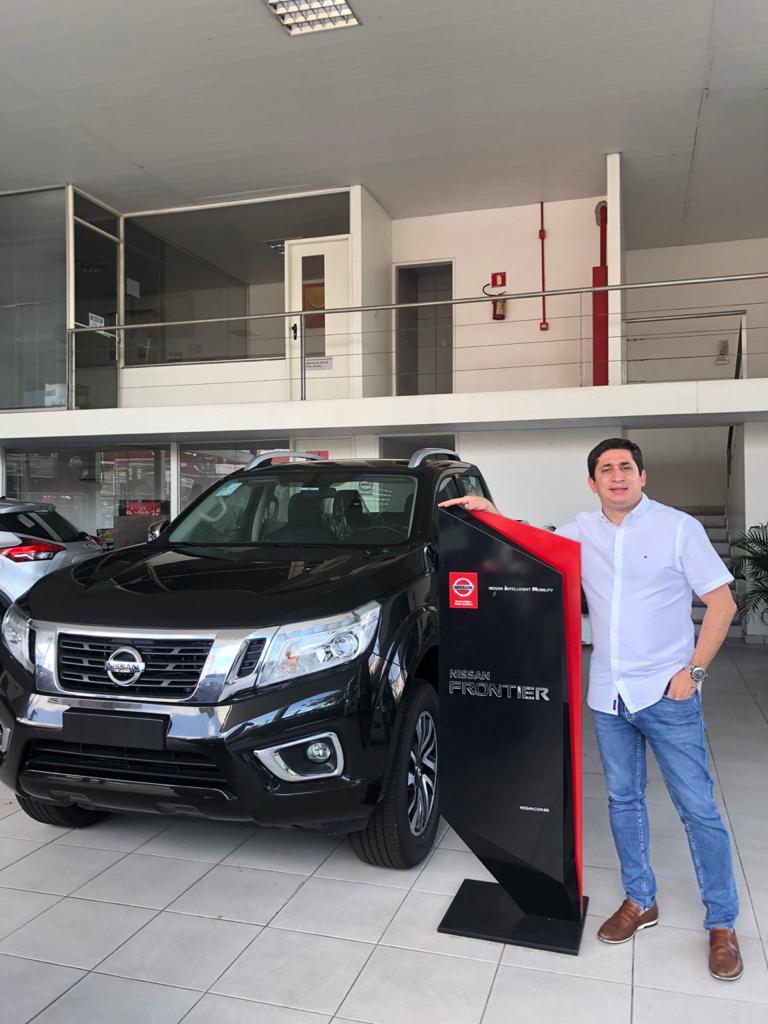 Nissan Frontier bate recorde de participação de mercado em fevereiro