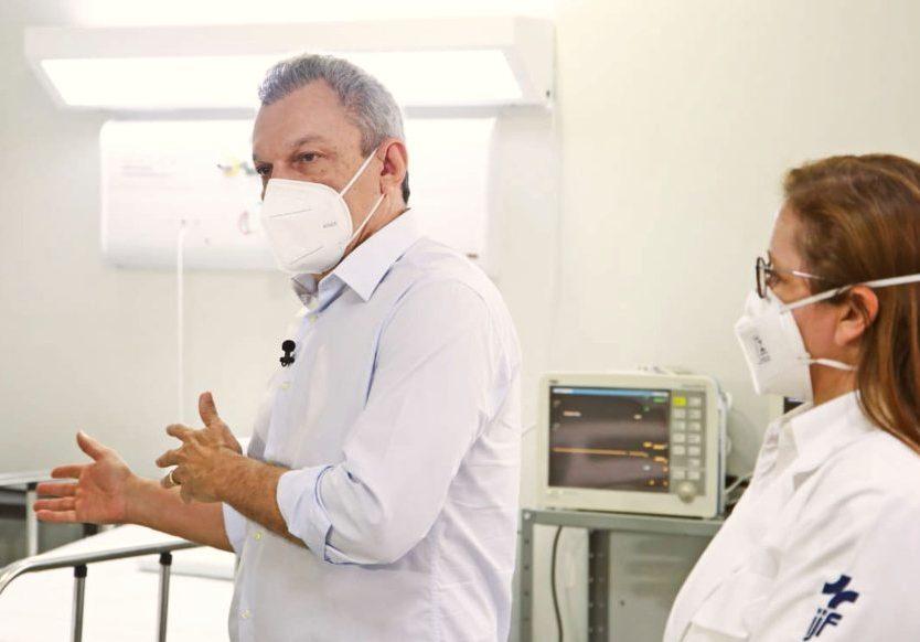 Sarto anuncia a instalação de 50 novos leitos no IJF-2 para atendimento Covid