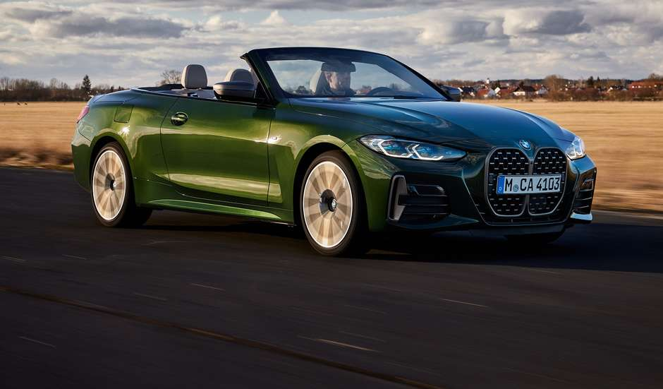 Confirmado para o Brasil, Novo BMW Série 4 Cabrio vem aí
