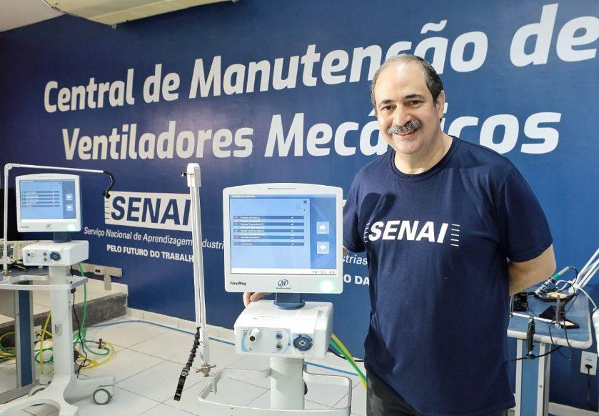 FIEC reativa unidade do Senai que faz a recuperação de ventiladores mecânicos