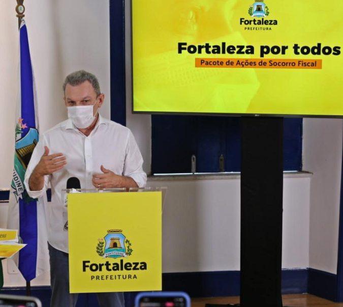 José Sarto anuncia pacote de recuperação fiscal para empreendedores de Fortaleza