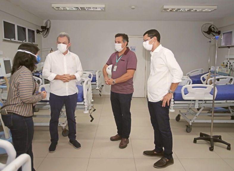 Prefeitura de Fortaleza disponibiliza 62 leitos exclusivos para pacientes com Covid-19 no Frotinha de Messejana
