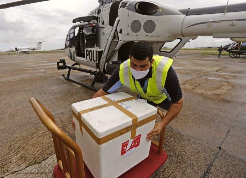 Camilo destaca a agilidade da logística de distribuição das vacinas no Ceará