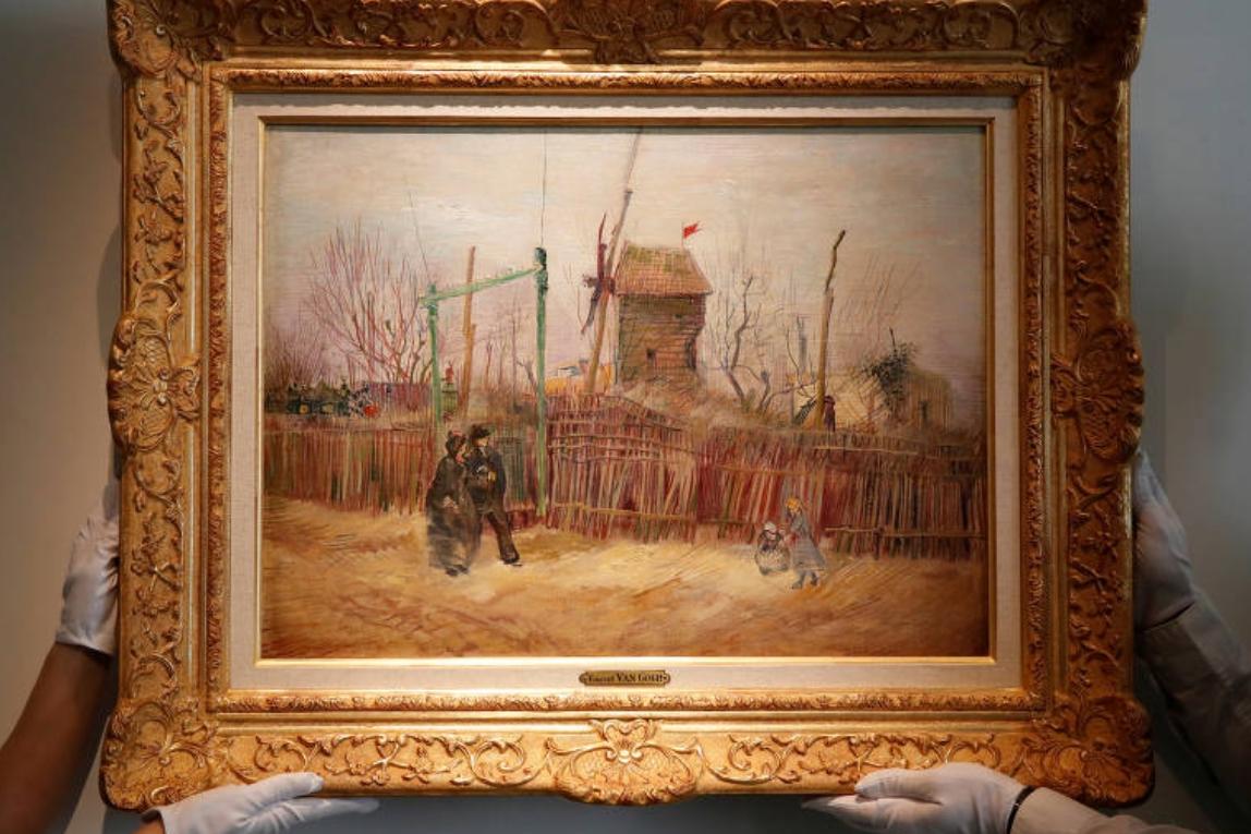 Quadro inédito de Van Gogh alcança R$ 93 milhões em leilão