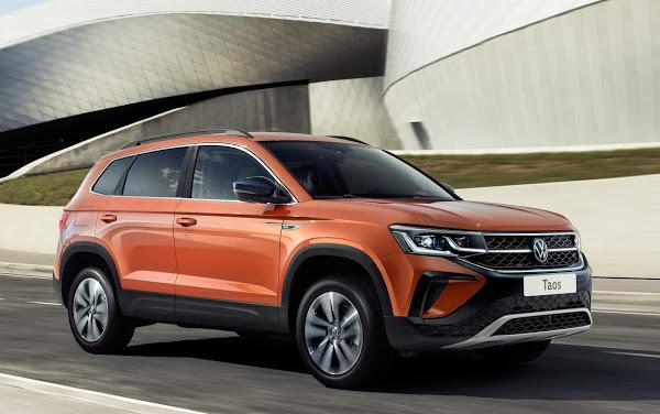 Na terra de Putin, Volkswagen Taos tem opção de motor 1.6