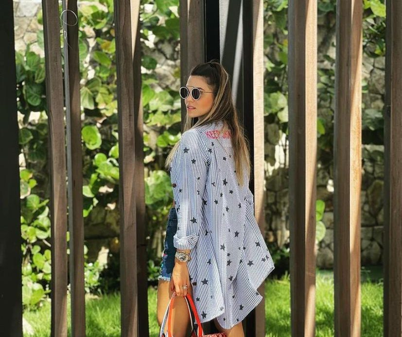 Mariana Pinto curte o fim de semana no Carmel Taíba